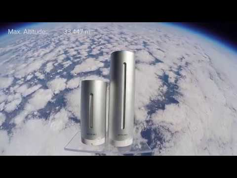 3, 2, 1… Launch! The Netatmo Weather Station took off into the space