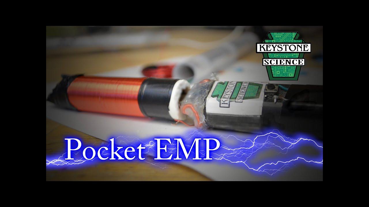 how to make a pocket emp youtube