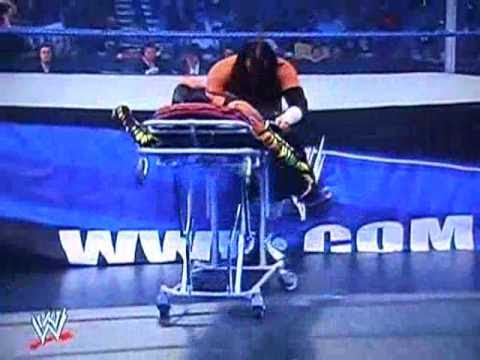 First Ever Stretcher Match - Matt Hardy vs. Jeff Hardy