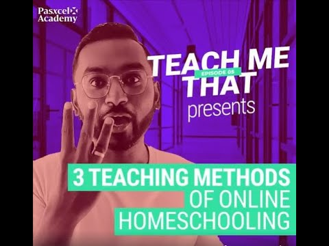 3 Teaching Methods Of Online Homeschooling