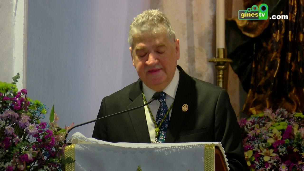 Juan Antonio Pérez Melo pronunció las bodas de oro del pregón de la romería del Rocío