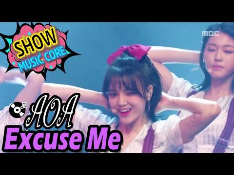 [HOT] AOA - Excuse Me, Show Music core 20170204