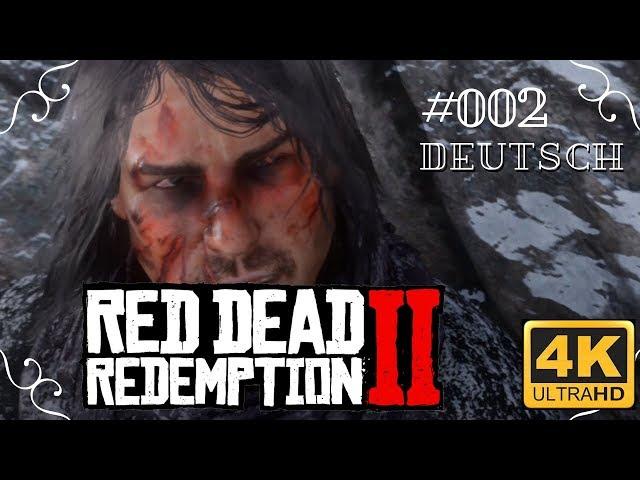 Red Dead Redemption II in 4k - #002 - John Marstens Narben [Deutsch, ohne Werbung, 4k, UHD, PS4Pro]