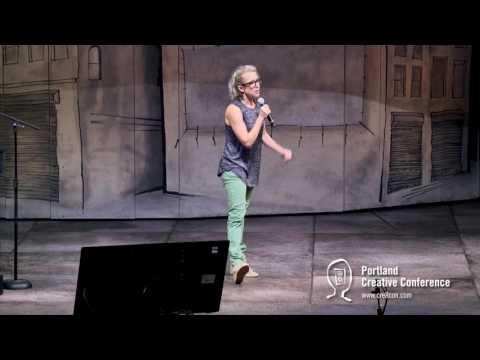 Lauren Weedman Speaks at the 2016 Portland Creative Conference