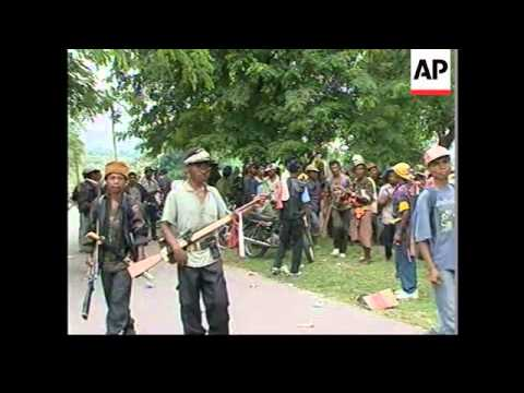 EAST TIMOR: CARLOS BELO CLAIMS 25 KILLED IN MASSACRE