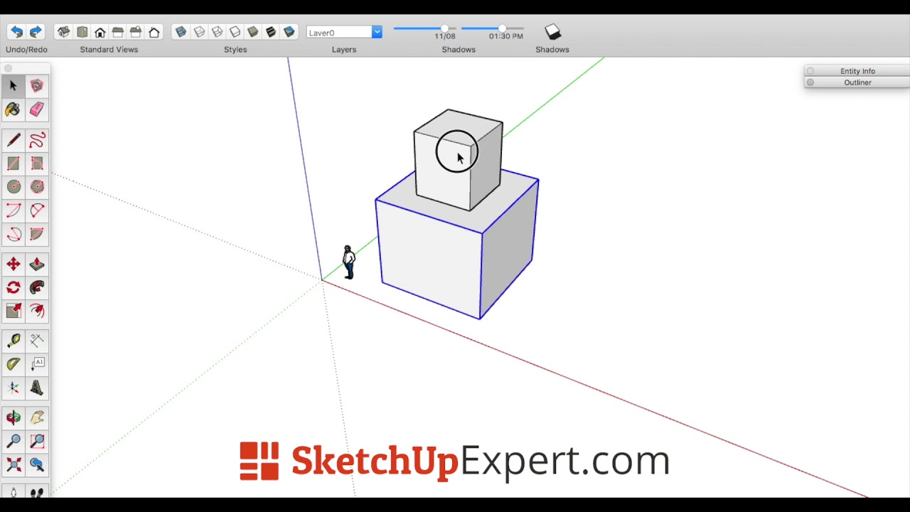 Sketchup Nederlands Sketchup Cursus Video Paste In Place Functie Nederlands