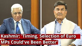 Kashmir: 'Timing, Selection of Euro MPs Could've Been Better'