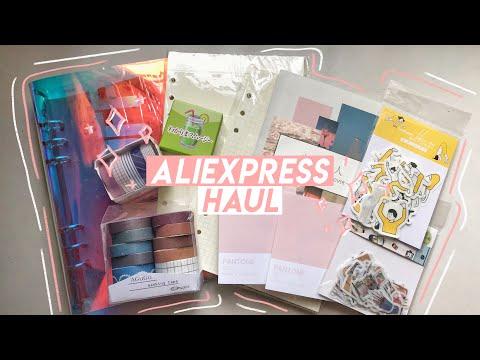 Stationery Haul 🛒 Feat. Jianwu Store (aliexpress)