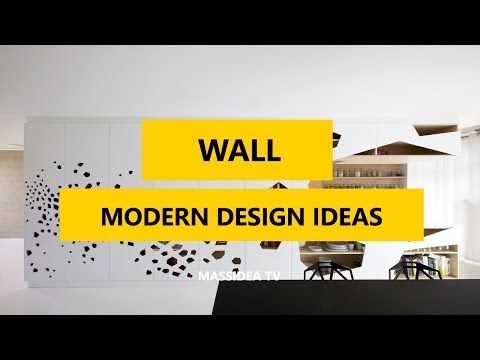 50+ Awesome Modern Wall Design Ideas In 2017