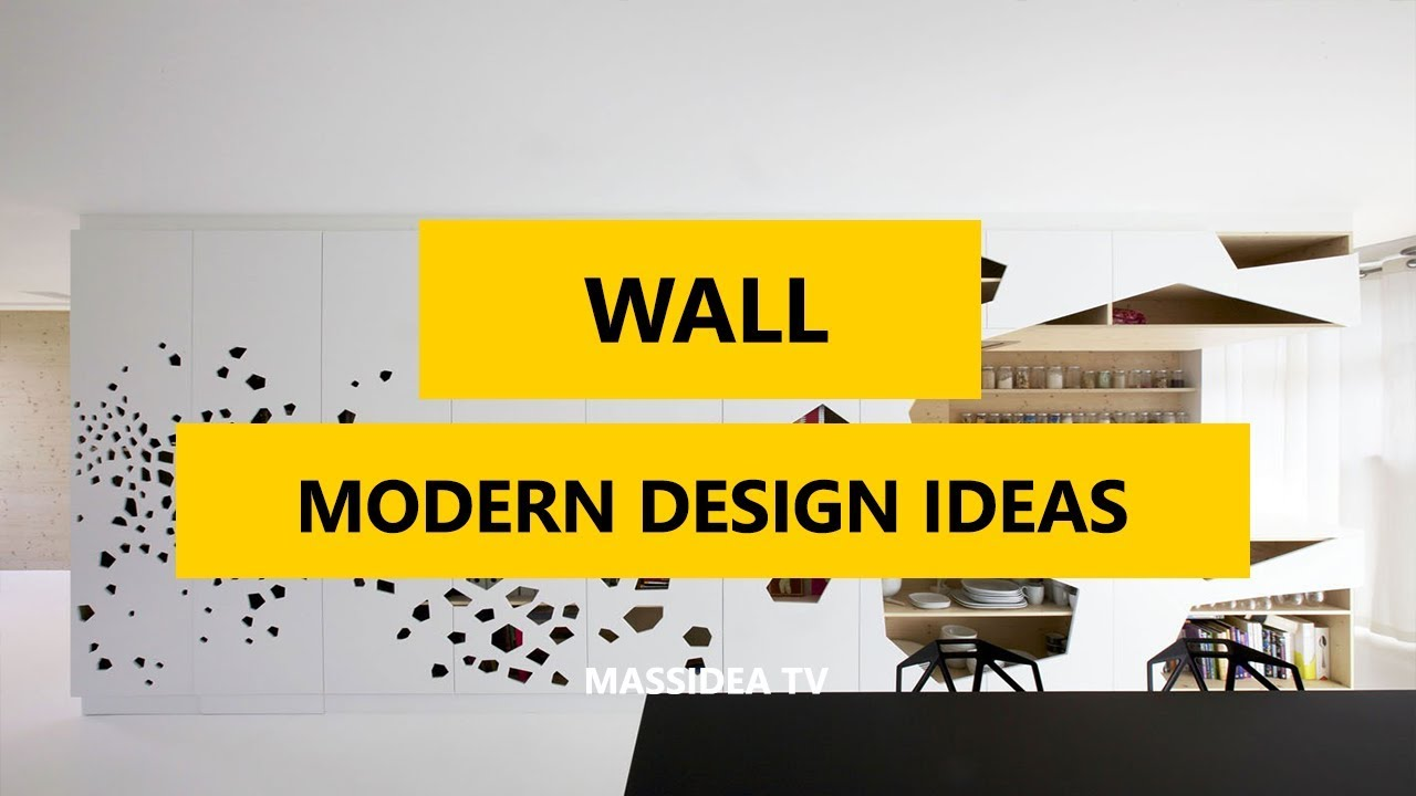 50+ Awesome Modern Wall Design Ideas in 2017 - YouTube