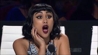 X factor Joe Irvine bullies Natalia Kills back!!! [X FACTOR]