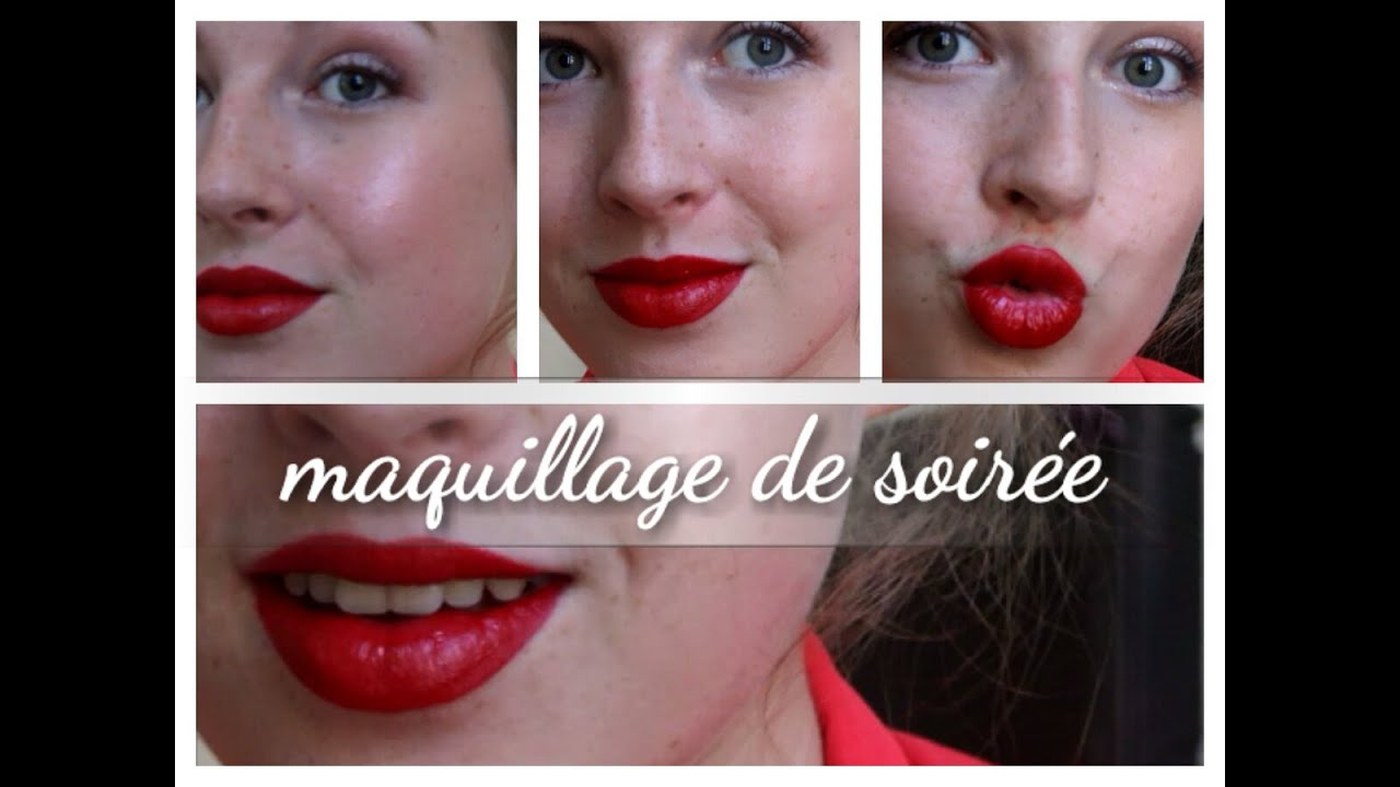 Maquillage De Soir E Youtube