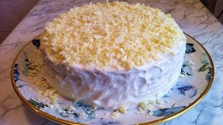 Торт Молочная Девочка / Milchmädchen Torte / Milch Mädchen / Cake Milk Girl / Простой Рецепт