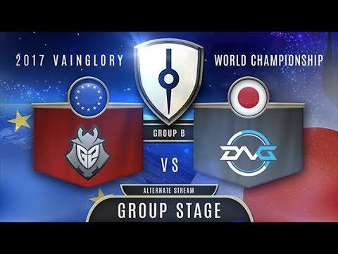 G2 Esports (EU) VS DetonatioN Gaming  (EA) - Razer 2017 Vainglory World Championship - Group Stage