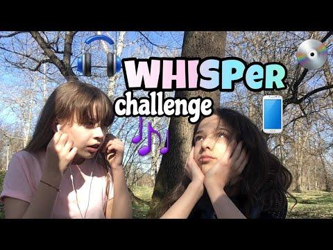 Whisper Challenge | Irina & Jana