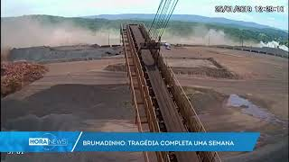 Brumadinho: Vídeo mostra momento em que barragem se rompeu