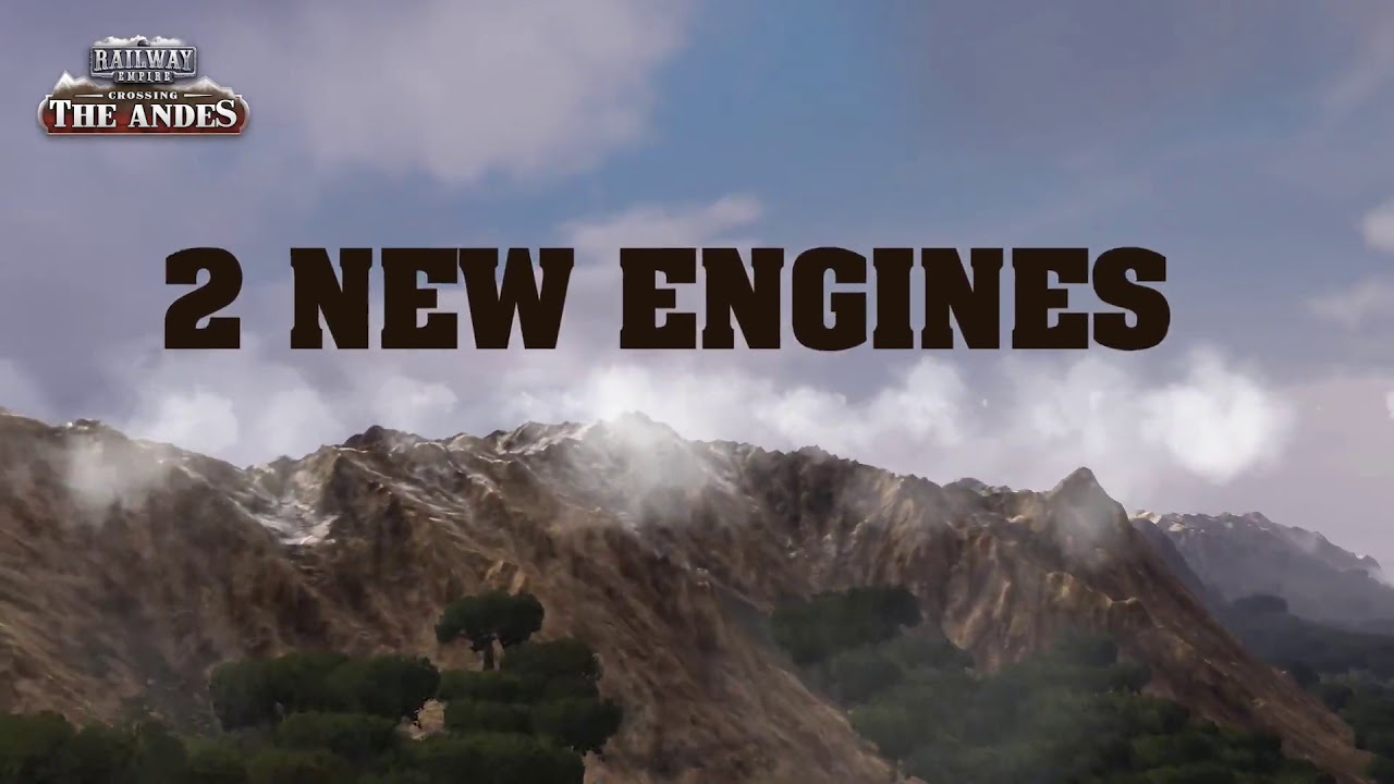 Railway Empire DLC Crossing the Andes Trailer