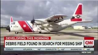 US Coast Guard confirms missing Cargo Ship El Faro sank off Bahamas during Hurricane Joaquin