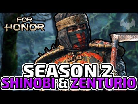 SEASON 2, SHINOBI & ZENTURIO - ♠ FOR HONOR: SHADOW & MIGHT ♠ - Deutsch German - Dhalucard