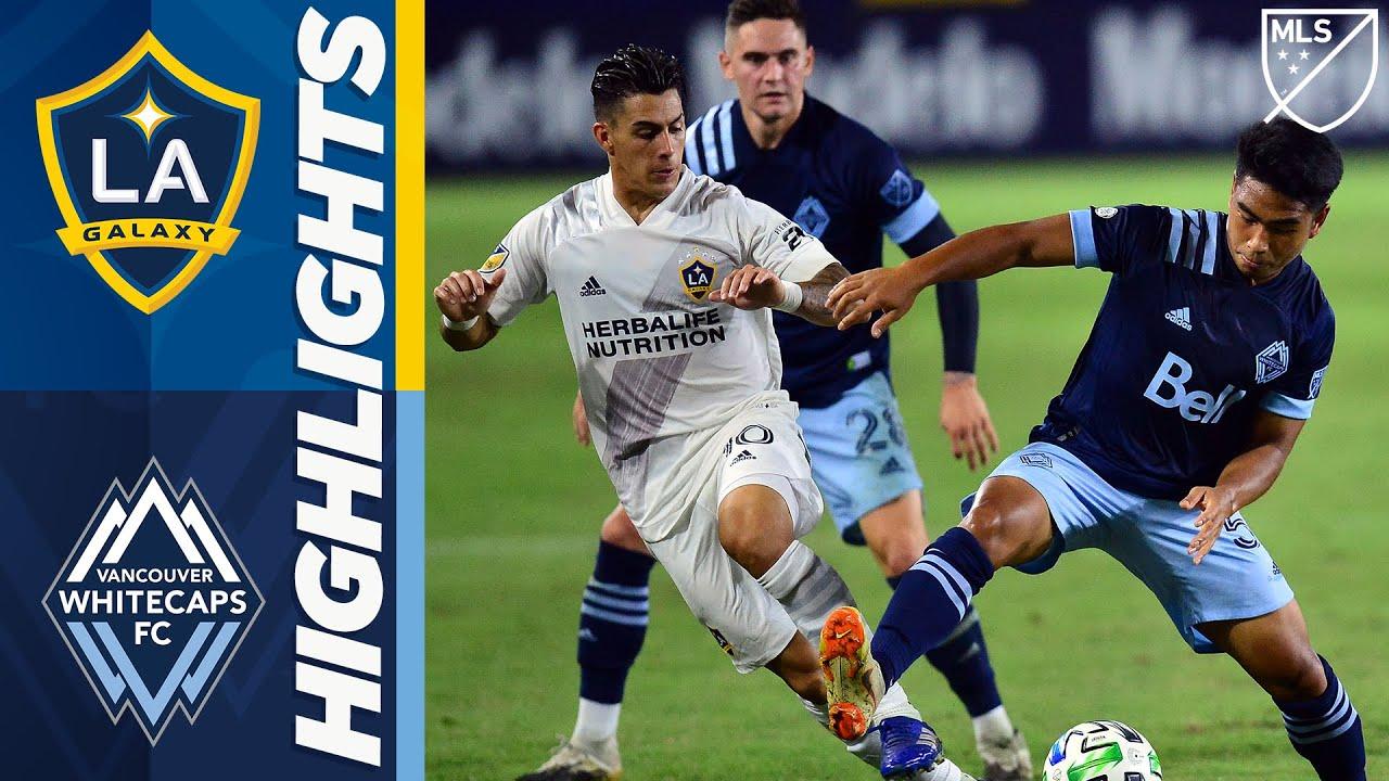 LA Galaxy vs. Vancouver Whitecaps FC   October 18, 2020   MLS Highlights