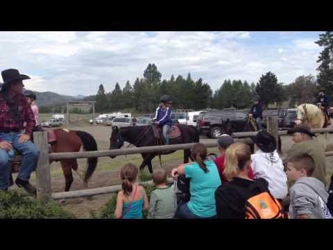 Yellowstone National Park  Roosevelt Old Western Dinner Cookout Day 5