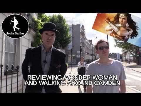 Wonder Woman Review While Walking Around Camden Town