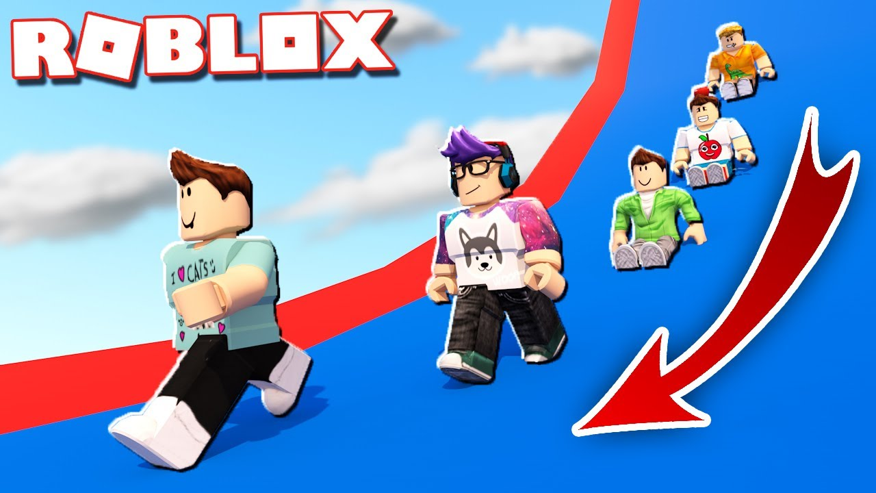 Roblox Got Talent Wipeout Wipeout Roblox Race Obby Youtube