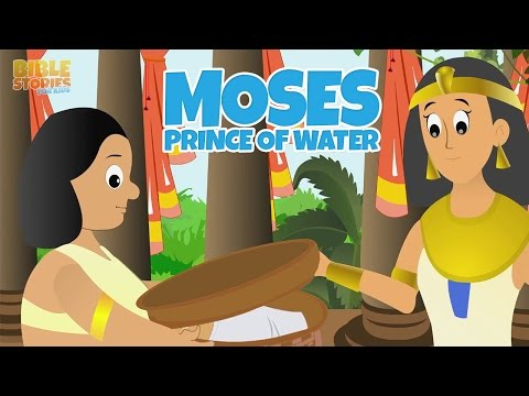 Moses Grows Up as a Prince! - Bible Stories For Kids!