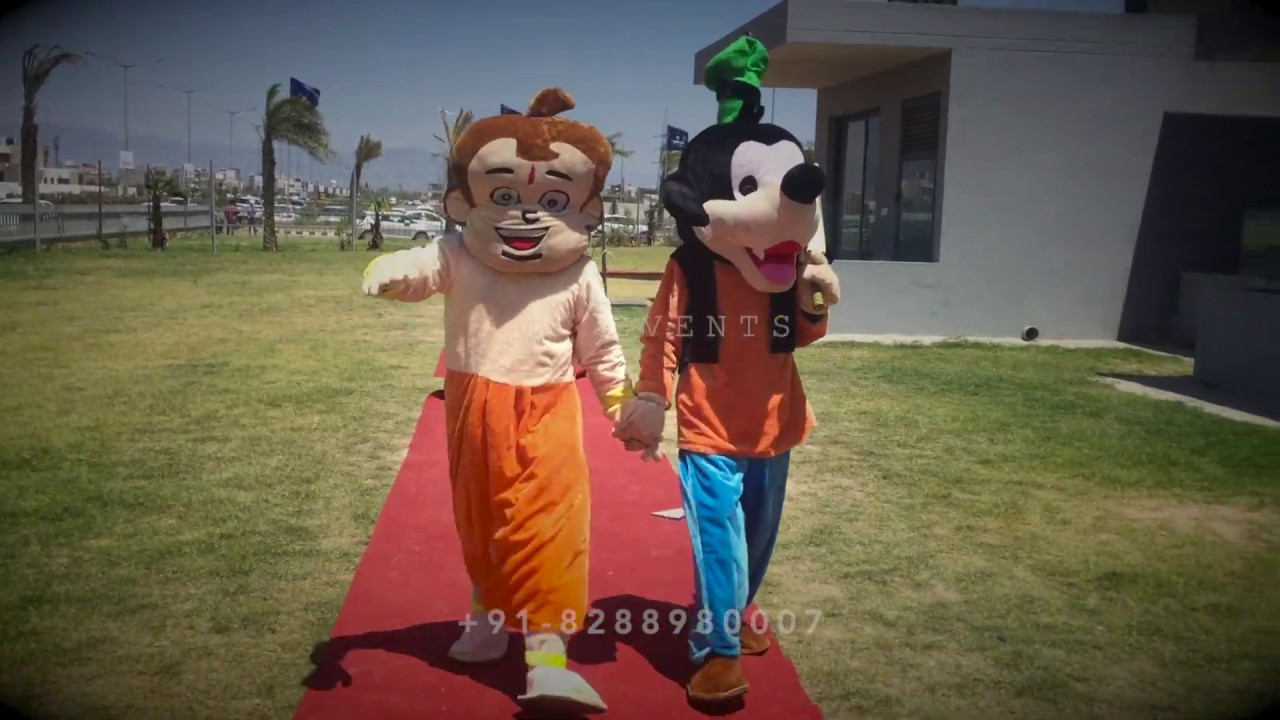 Mascots Live Entertainers For Kids Birthday Parties In Mumbai Youtube