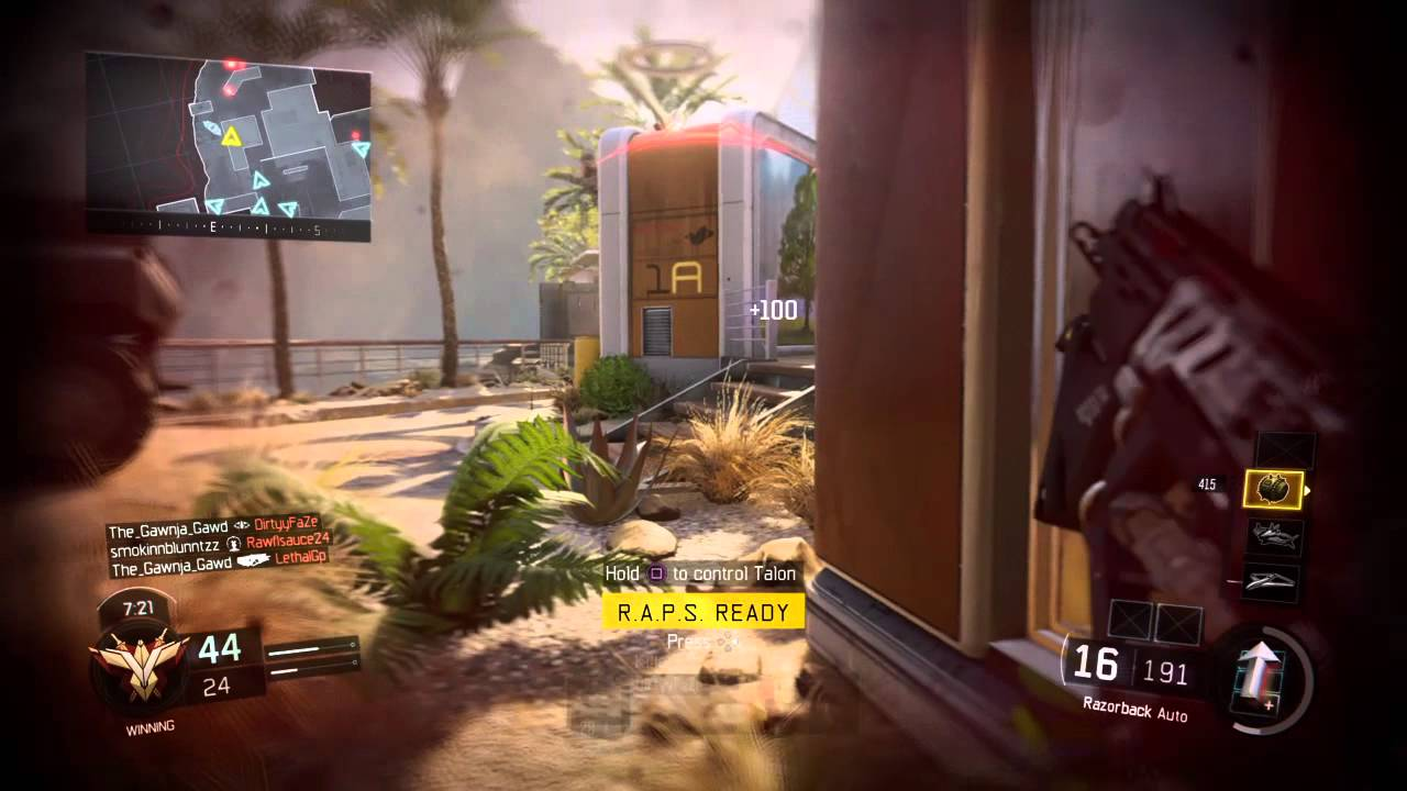 Black Ops Iii Gameplay  Triple R A P S   43