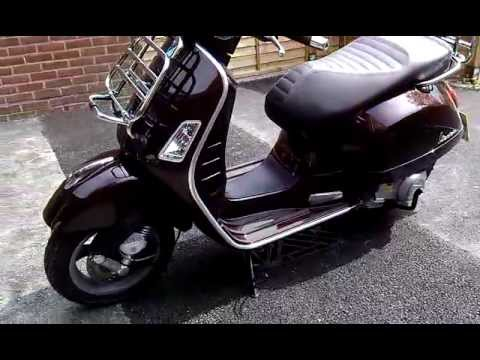 vespa gts 300 touring youtube. Black Bedroom Furniture Sets. Home Design Ideas