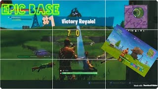DEADLY BASE DESIGN (SECRET COMPARTMENT) FORTNITE: BATTLE ROYAL