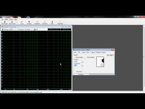 Winisd Tutorial Ported Speaker Port Size And Air Velocity Youtube
