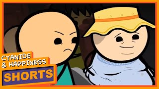 Rude - Cyanide & Happiness Shorts