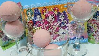 Yes! プリキュア5 GoGo びっくら?たまご いちごのかおり 5個同時にとかしてみました。 マスコットは全部で12種類 Yes! PreCure 5 GoGo (Pretty Cure) Surprise Eggs ...