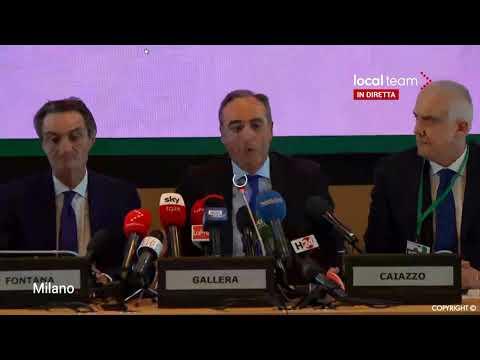 Coronavirus, la conferenza dall'ospedale di Codogno dove è ricoverato l'italiano contagiato