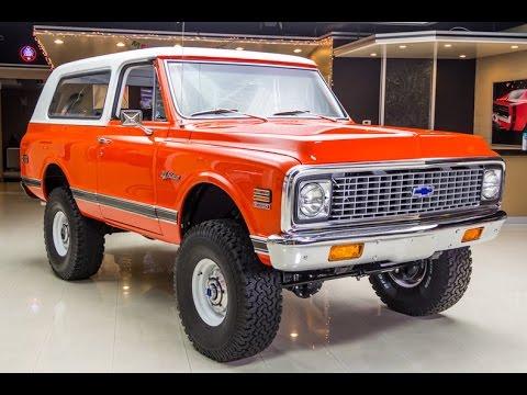 1971 Chevrolet Blazer K5 For Sale Youtube