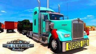 ОГРОМНЫЙ ГРУЗ! / Bakersfield (CA) - Phoenix (AZ)   СТРИМ American Truck Simulator #3