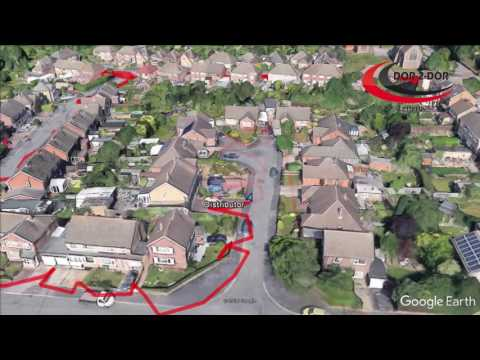 GPS Tracking of leaflet distribution  - the Reality