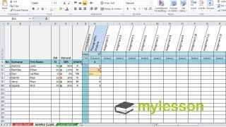 Excel Grade-book & Feedback For Students