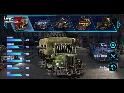 Last Empire-War Z----Choose Your Armed Car To Conquer Your Enemy
