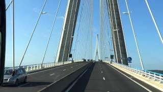 Längste Brücke Europas - Brücke der Normandie 2015 Full HD