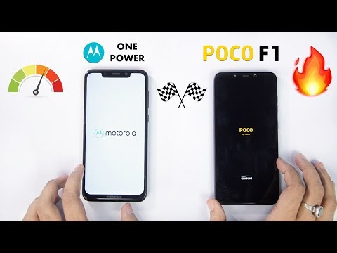 Moto One Power vs Poco F1 Speedtest Comparison & RAM Management [AMAZING RESULTS] 🔥