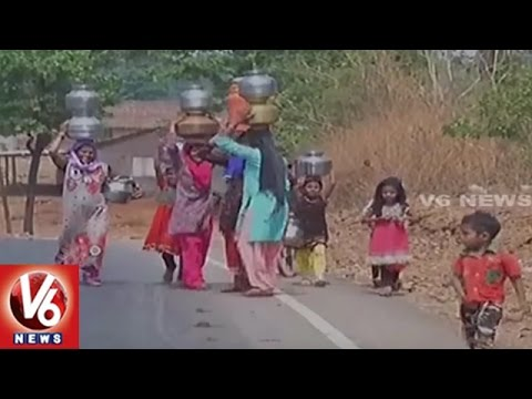 People Facing Problems Due to Shortage Of Water In Dang District | Gujarat | V6 News