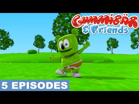 Gummy Bear Show Third 5 Episodes - HALLOWEEN, STEALTHY NINJA, HAPPY PUPPY AND MORE