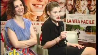VITTORIA PUCCINI e CAMILLA FILIPPI - intervista (La vita facile) - WWW.RBCASTING.COM
