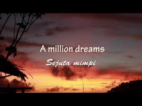Lirik dan Terjemahan -A MILLION DREAMS- from the Greatest Showman