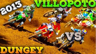 Ryan Villopoto vs Ryan Dungey - 2013 Outdoors