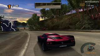 #TBT - Need for Speed Hot Pursuit 2 - NFS Ferrari F50 Gameplay