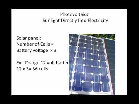 Lecture 9 Solar Electric Configuration